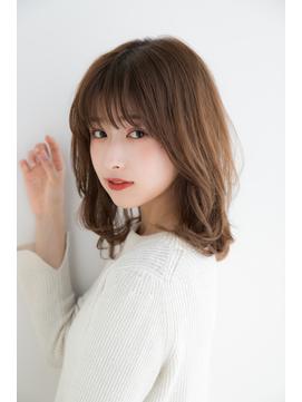 加藤貴大40代50代スタイル 小顔ミディアムレイヤー 銀座/有楽町