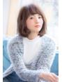 【KAYAK渋谷】ふんわり×ナチュカール☆甘可愛いミディボブ