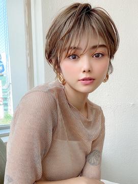 ヘルシーレイヤー/大人ボブ/ひし形シルエット/白髪染め