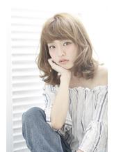 【QONtROL yakumo】透明感のある艶感アッシュミディ 落ち着き.28