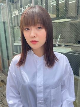 美髪ストレート【表参道】【LOVECHROME】【ホンダワタル 】