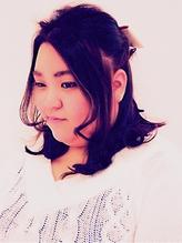 卒業式にも☆ハイカラさんハーフアップ 内巻き.39