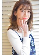【SPLENDO立花】ベージュグラデーションカラーxシースルーバング.8