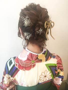 卒業式 ヘアセット 横浜 袴着付 8