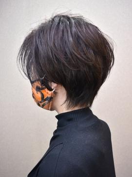 ☆40代ショート/50代ショート/60代ショート/辺見えみり髪型☆
