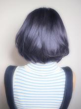 ヤリ過ぎくらいが丁度いい!【ブルー】なヘアカラー☆ カントリー.58