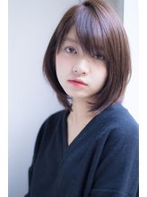 【Blanche 副店長川上功介】カジュアルショートボブ 大人,フェミニン.26