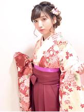 卒業式 袴 成人式 振袖 ルーズ ヘアアレンジ ウェディング.29
