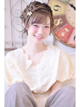 【メイズ 東中野・鍛原志行】ショートのヘアアレンジ