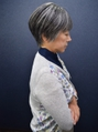 【60代女性髪型】春夏ショート