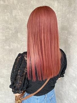 髪質改善/暗髪/カラー/透明感/うる艶/ロング/トリートメント