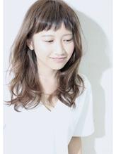 [デジタルパーマ] 大人かわいい ハニーヘア くびれミディ★★ デジタルパーマ.25