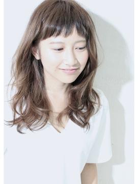 [デジタルパーマ] 大人かわいい ハニーヘア くびれミディ★★