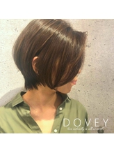 【DOVEY】30代 40代 50代に大人気☆長さを残したショートヘア.27