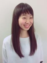10代**中学生 清楚で可愛い★ナチュラルなサラツヤロング 中学生.5