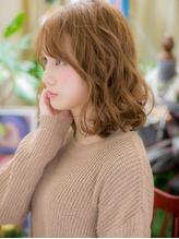 *+COVER HAIR+*…ハイトーンウェービーヘアa .9