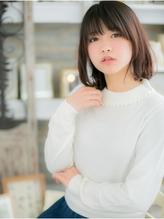 黒髪でも可愛い☆伸ばしかけボブa 就活.10