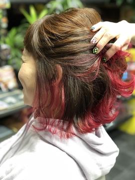 赤ピンクミックス