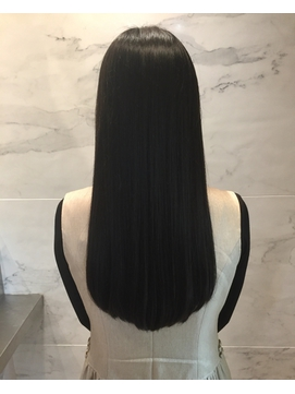 黒髪、艶ロングスタイル♪