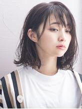 セミウェットな抜け感ボブ8*小顔◎ GAFF表参道 岡田道好.19