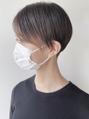 【morio 原宿】刈り上げ女子 ツーブロック ハンサムショート