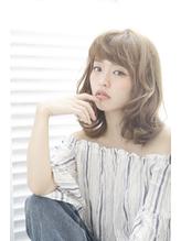 【QONtROL yakumo】透明感のある艶感アッシュミディ 落ち着き.57