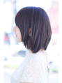 【FORTE 銀座】触りたくなるストレートボブ♪ツヤ髪♪