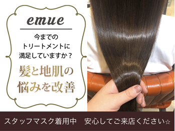 エミュー(emue)(京都府京都市右京区/美容室)