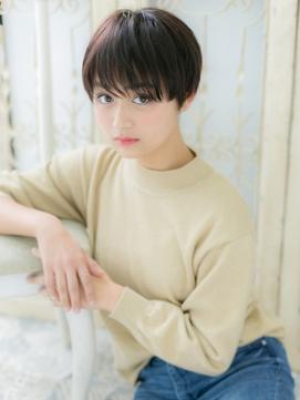 *CUORE松戸*…モード&クールな黒髪ベリーショートb
