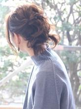 【M.SLASH藤沢】ノットヘアで♪ルーズ&フェミニン .17