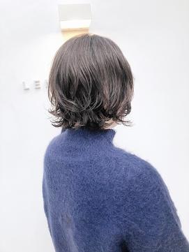 【 LEMO 】《高橋舞》 ショートボブ デジタルパーマ 小顔