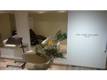 ヘアギャラリー、その名の通り作品、ヘアスタイルを展示する空間