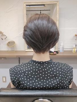 前下がりショート20代30代40代大人ショート大人女性【knit銀座】
