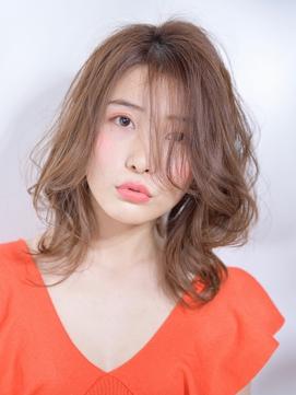 【高田馬場/aoba】小顔に見せるルーズパーマ 30,40代にも◎