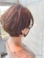 大人無造作ショートボブ☆ふんわりヘアでセットも簡単☆