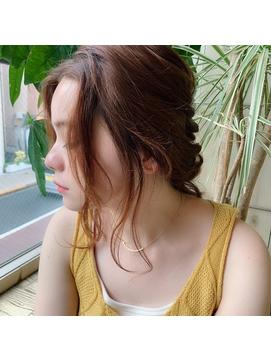 夏のゆるポニーテール♪【MISA】