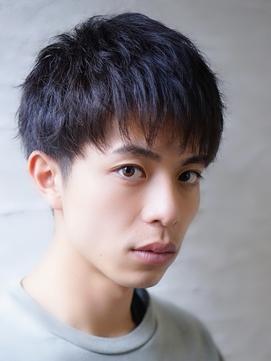 [Gigi稲葉]ツーブロック★ショートバング★シルバーカラー