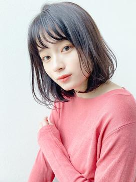 [K-two青山]大人かわいい内巻きボブスタイル/黒髪[表参道/青山]
