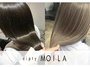 ディプティモイラ(dipty MOILA)(大阪府大阪市中央区/美容室)