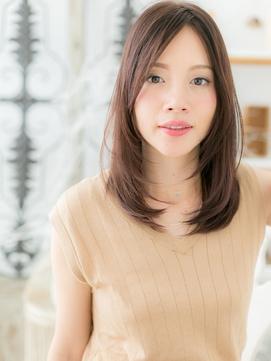 *mod's上尾*センターパート…小顔ハンサムセミディa!