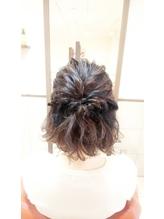 neolive cino   髪が短いボブの方にオススメハーフアップ☆.2