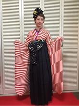 卒業式袴スタイル リボン.32