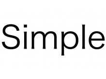シンプル(Simple)