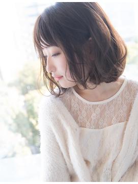 【卵型面長】の方に似合う大人かわいい美髪ショートボブby橋本