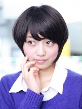 RINO横浜店 シンプル小顔ショート♪