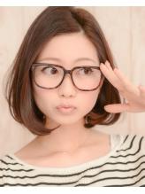 【 due 】鉄板のワンカールはメガネがすごく似合います♪ メガネ.31