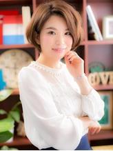 "*+COVER HAIR+*…デキる女の""美形""ショートボブa パーティ.18"