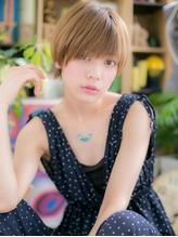 *+COVER HAIR+*…ハイトーンの★目力UP!ショートa 小頭.19