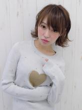 外ハネボブ☆両耳かけ☆フルバング.38