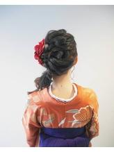編みおろし☆ヘアセット2000円から☆.11